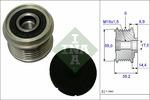 Sprzęgło jednokierunkowe alternatora INA 535 0216 10 INA 535021610