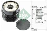 Sprzęgło jednokierunkowe alternatora INA  535 0281 10-Foto 2
