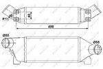 Chłodnica powietrza doładowującego - intercooler NRF 30259 NRF 30259