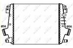Chłodnica powietrza doładowującego - intercooler NRF 30272 NRF 30272