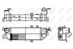 Chłodnica powietrza doładowującego - intercooler NRF 30305 NRF 30305