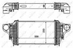 Chłodnica powietrza doładowującego - intercooler NRF 30464 NRF 30464