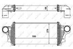 Chłodnica powietrza doładowującego - intercooler NRF 30465 NRF 30465