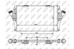 Chłodnica powietrza doładowującego - intercooler NRF 30480 NRF 30480
