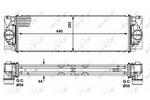 Chłodnica powietrza doładowującego - intercooler NRF 30505 NRF 30505