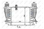 Chłodnica powietrza doładowującego - intercooler NRF 30518 NRF 30518