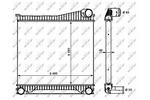 Chłodnica powietrza doładowującego - intercooler NRF 30913 NRF 30913