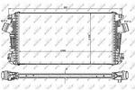 Chłodnica powietrza doładowującego - intercooler NRF 30921 NRF 30921