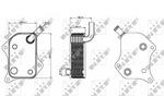 Chłodnica oleju silnikowego NRF 31237 NRF 31237