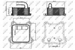 Chłodnica oleju silnikowego NRF 31260 NRF 31260