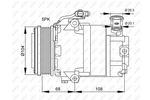 Kompresor klimatyzacji NRF 32082G NRF 32082G