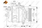 Kompresor klimatyzacji NRF 32106