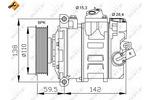 Kompresor klimatyzacji<br>NRF<br>32146