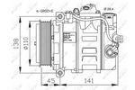 Kompresor klimatyzacji NRF  32214G-Foto 4