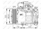 Kompresor klimatyzacji NRF  32225G
