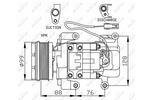 Kompresor klimatyzacji NRF 32234