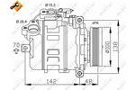 Kompresor klimatyzacji NRF 32433 NRF 32433