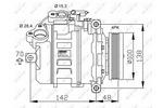 Kompresor klimatyzacji NRF 32433G NRF 32433G