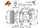 Kompresor klimatyzacji NRF 32681G
