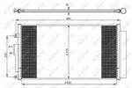 Chłodnica klimatyzacji - skraplacz NRF 350071