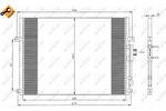 Chłodnica klimatyzacji - skraplacz NRF 35275