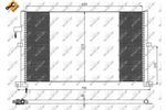 Chłodnica klimatyzacji - skraplacz NRF 35525 NRF 35525