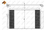 Chłodnica klimatyzacji - skraplacz NRF 35538