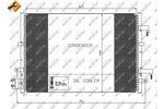 Chłodnica klimatyzacji - skraplacz NRF 35539 NRF 35539