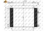 Chłodnica klimatyzacji - skraplacz<br>NRF<br>35610