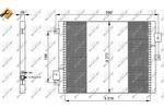 Chłodnica klimatyzacji - skraplacz NRF 35795 NRF 35795