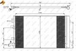 Chłodnica klimatyzacji - skraplacz NRF  35932