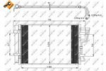 Chłodnica klimatyzacji - skraplacz NRF 35963 NRF 35963
