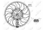 Wentylator chłodnicy silnika NRF 47418