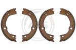 Szczęki hamulcowe hamulca postojowego - komplet A.B.S. 9371 A.B.S. 9371