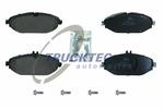 Klocki hamulcowe - komplet TRUCKTEC AUTOMOTIVE  02.35.516 (Oś przednia)