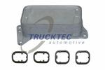 Chłodnica oleju silnikowego TRUCKTEC AUTOMOTIVE 08.18.022 TRUCKTEC AUTOMOTIVE 08.18.022