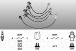 Przewody zapłonowe - zestaw EFI AUTOMOTIVE  4089