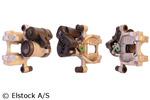 Zacisk hamulcowy ELSTOCK  86-2504 (Oś tylna strona lewa) (Przed osią)
