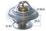 Termostat układu chłodzenia ERA 350174 ERA 350174