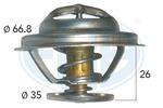 Termostat układu chłodzenia ERA 350333 ERA 350333