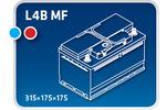 Akumulator IPSA  82Ah 720A TM82P-Foto 3