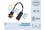 Przełącznik termiczny wentylatora chłodnicy FAE 36220