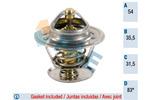 Termostat układu chłodzenia FAE 5302183