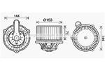 Silnik elektryczny, dmuchawa wewnętrzna AVA QUALITY COOLING HY8460 AVA QUALITY COOLING HY8460