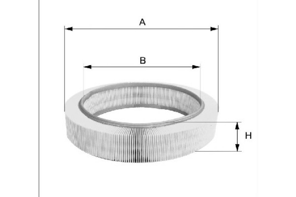 Filtr powietrza FILTRON (AR036)