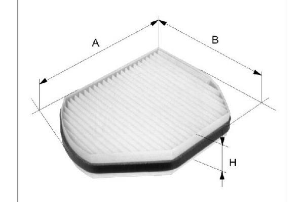 Filtr kabinowy FILTRON (K1065)