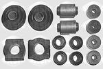 Zestaw naprawczy drążka sprzęgający stabilizatora SASIC  100K504 (Oś przednia)