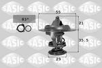 Termostat układu chłodzenia SASIC 3381231 SASIC 3381231