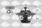 Termostat układu chłodzenia SASIC  3381391