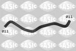 Przewód elastyczny chłodnicy SASIC 3404024